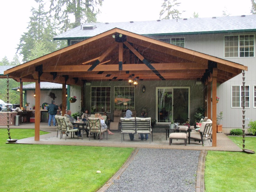Outbuildings for Patio construction ideas
